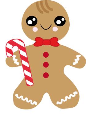 Gingerbread Man Drawing