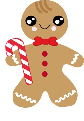 Gingerbread Girl Embroidery Designs