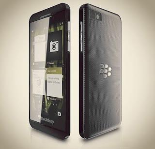 Inilah Tampang Blackberry 10 L-Series Putih