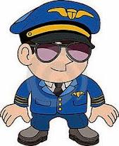 En un vuelo comercial, el comandante