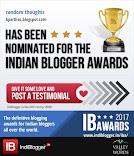 Indiblogger award