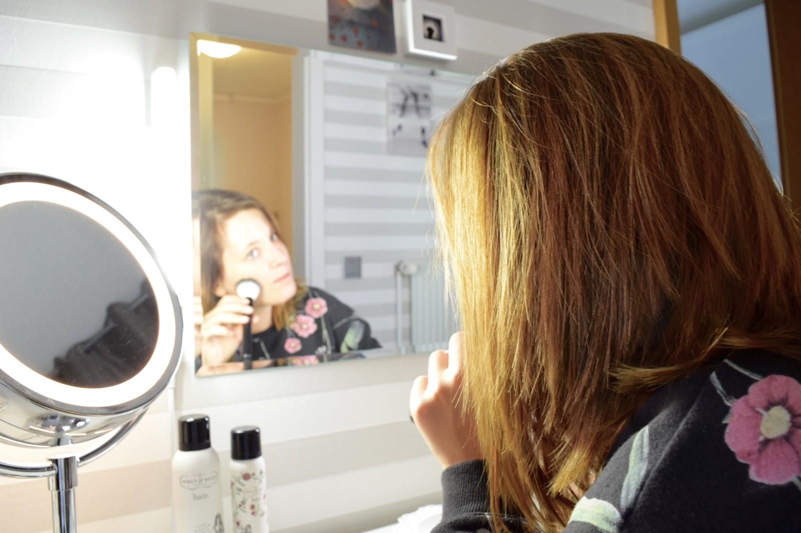 Zimtzebra das richtige licht f r meinen schminktisch - Schminktisch spiegel beleuchtet ...