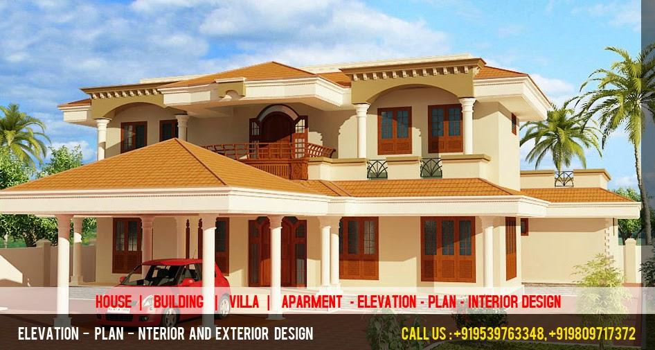 3d elevation plan designer best 3d house elevation plan for Bungalow images design news