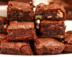 Easy Chocolate Walnut Brownies