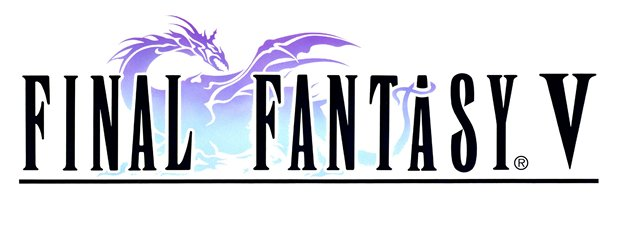 RPG para Super Nintendo Final+Fantasy+V+logo