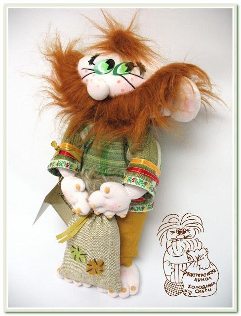 Кукла ручной работы Домовой Феофан