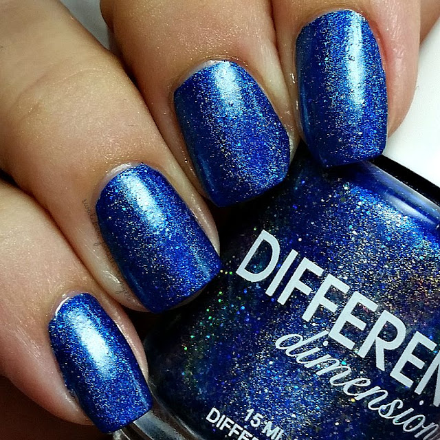 swatcher, polish-ranger | Different Dimension Blue Shift swatch