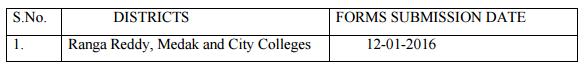 OU Degree Exam Fee Dates 2016 Osmania University Exam Fee