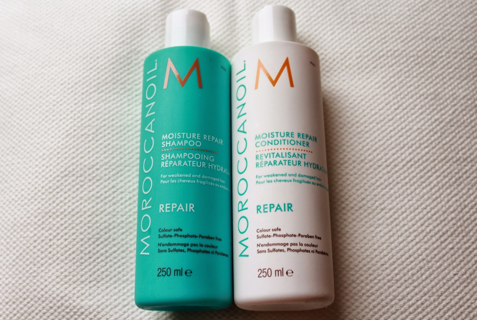 Moroccan Oil Repair Shampoo and Conditioner