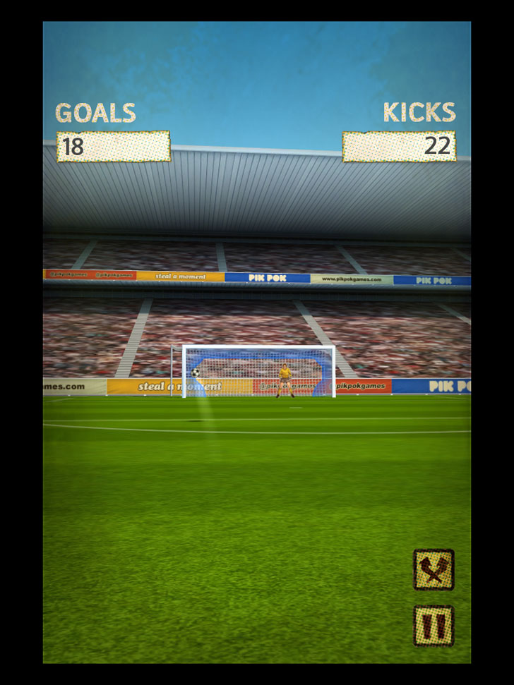 Flick Kick Football Kickoff Free App Game By PikPok