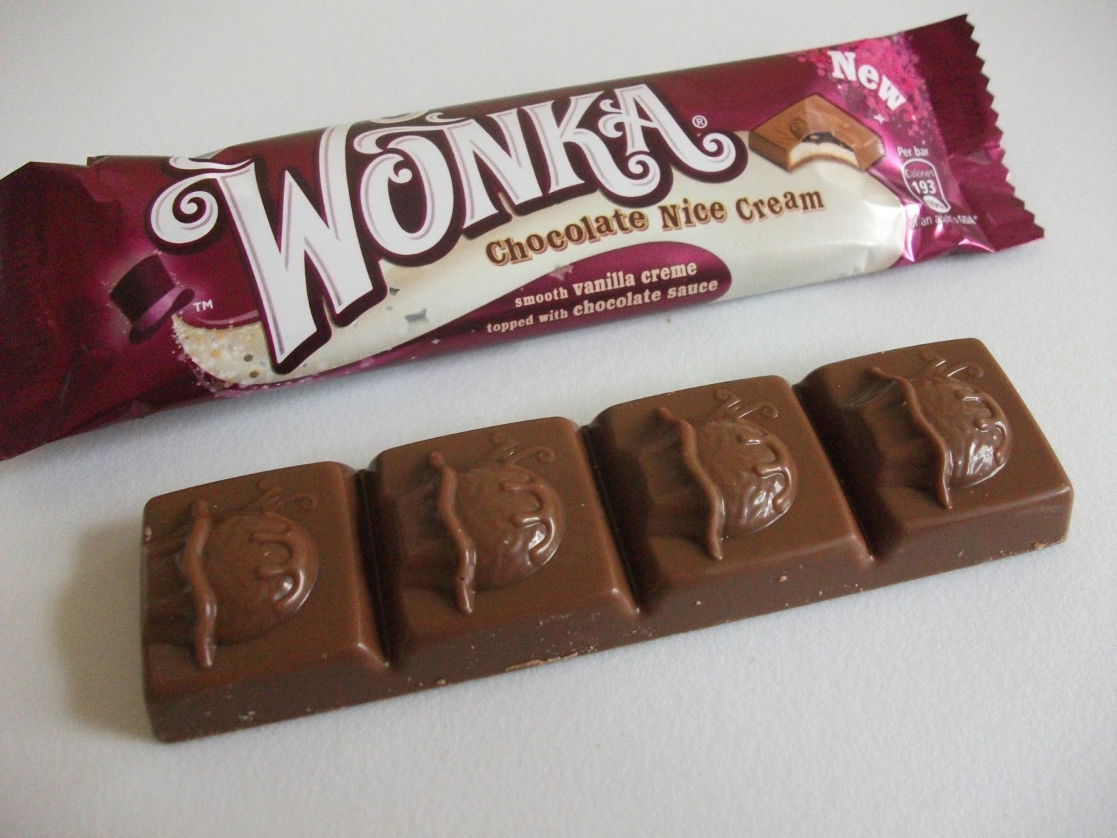 Snack Lover: Nestlé Wonka Chocolate Nice Cream Bar Review