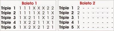 5 Triples