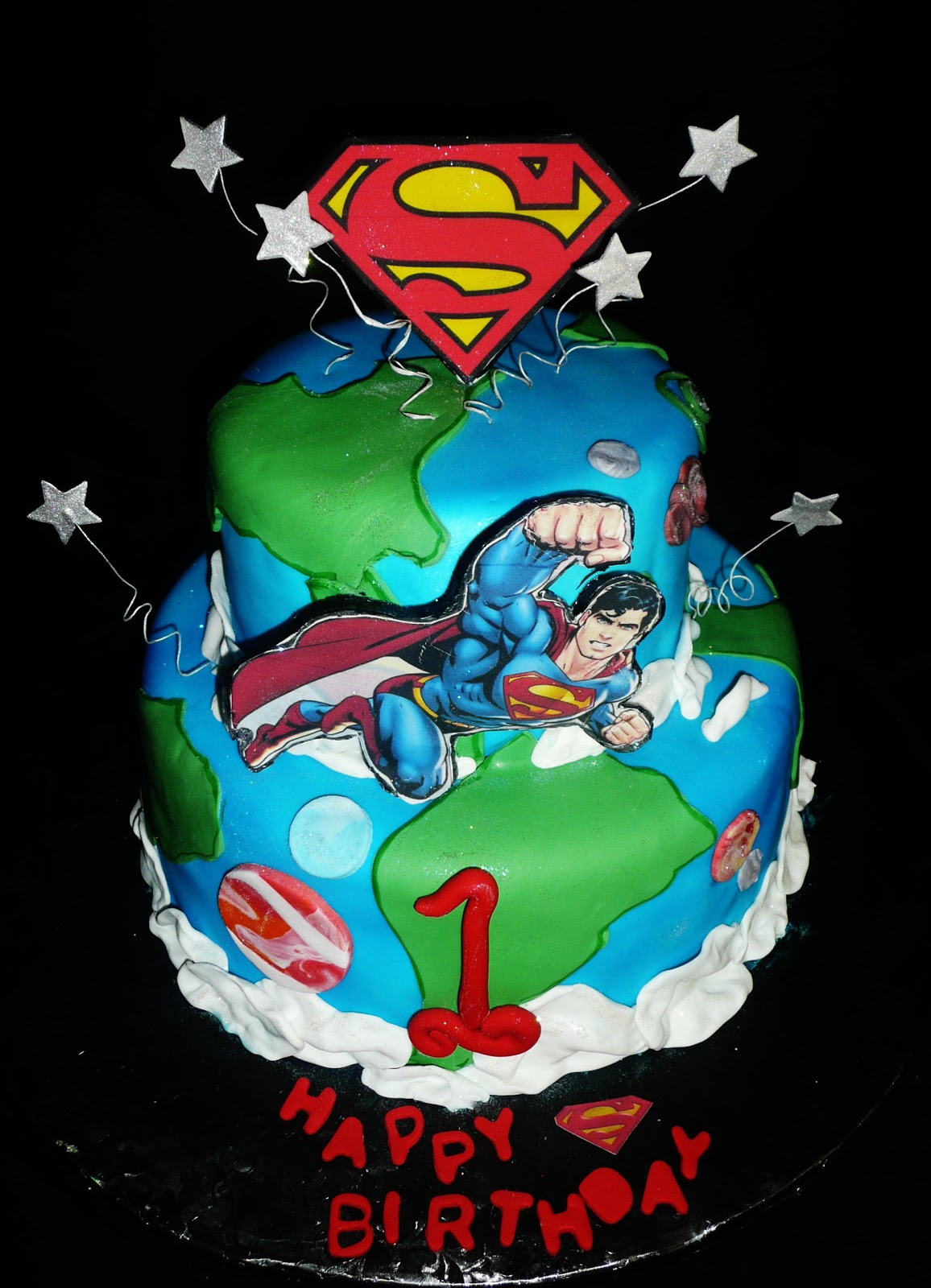 Pin Superman Inspired Dessert Table Sweet Designs – Amy