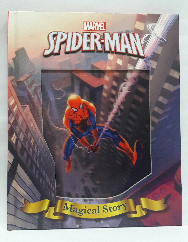 Little Bee Bookz Bookshelf Marvels Heroes Spiderman
