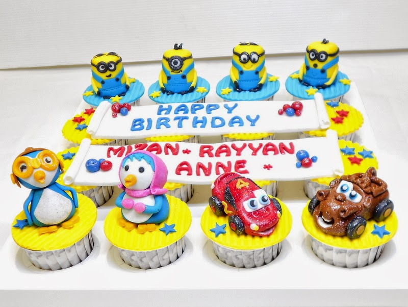 Figurine Cupcakes