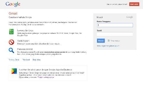Cara Membuat Email Baru di Gmail Gratis