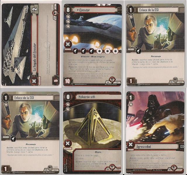 Expansión Star Wars LCG: Ciclo de Hoth - Huida de Hoth La llegada del Ejecutor
