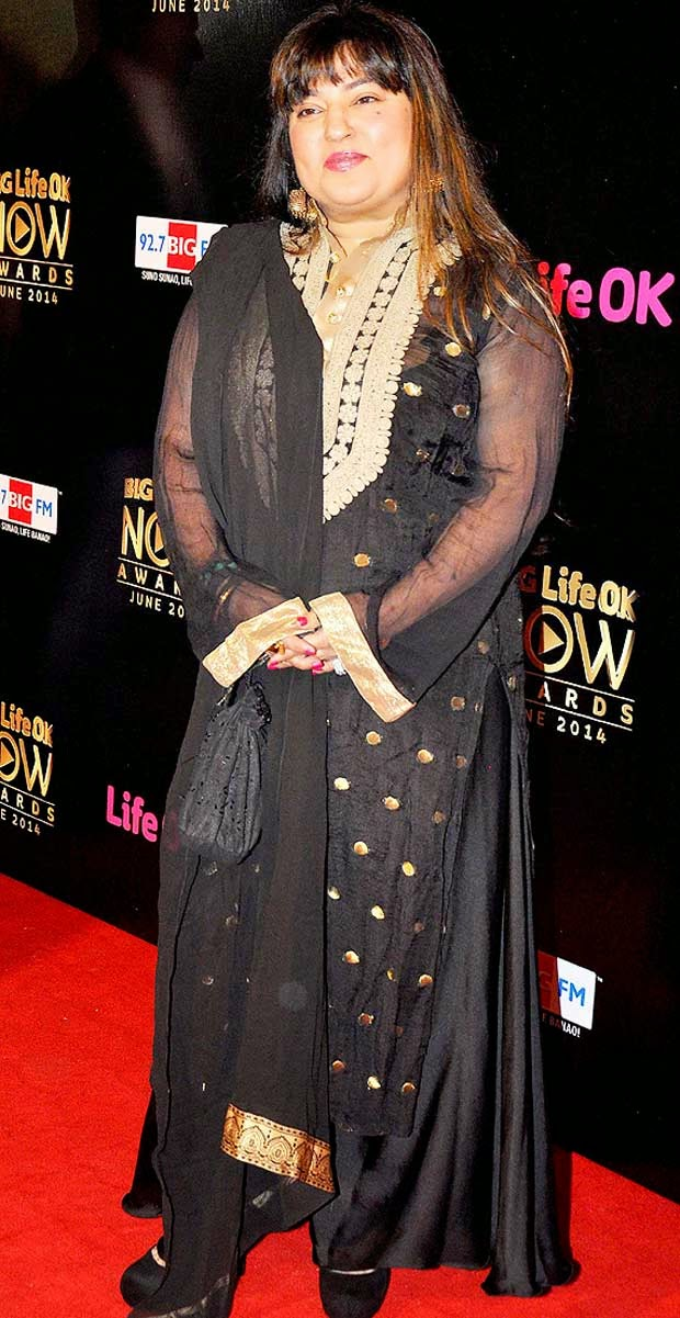 Dolly Bindra At Life Ok Now Awards 2014