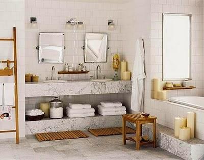Imagen decoración baño y complementos