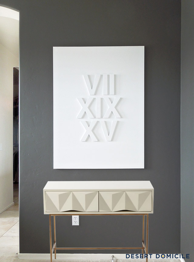 My Next Option Is West Elmu0027s Sculpted Geo Console Table:
