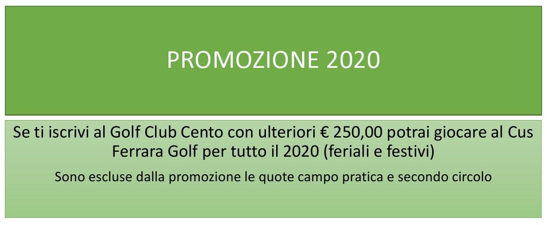 PROMOZIONE 2020
