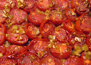 Closeup of Caramelized Tomatoes