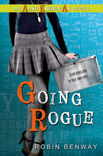 Going Rogue Robin Benway book cover