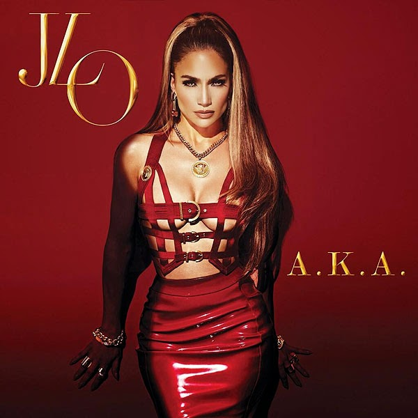 j-lo album art for AKA
