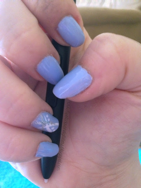 essie, bikini so teeny, nail, nail art