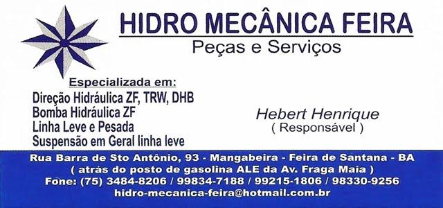 HIDRO MECÂNICA FEIRA