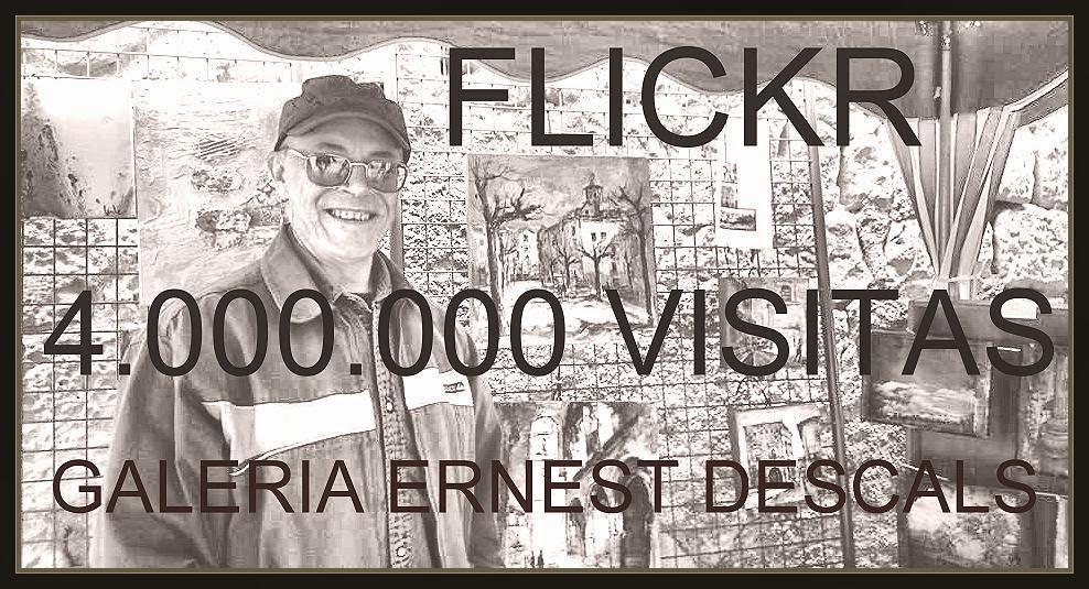 FLICKR-4-MILLONES-VISITAS-GALERIA-ARTISTA-PINTOR-ERNEST DESCALS