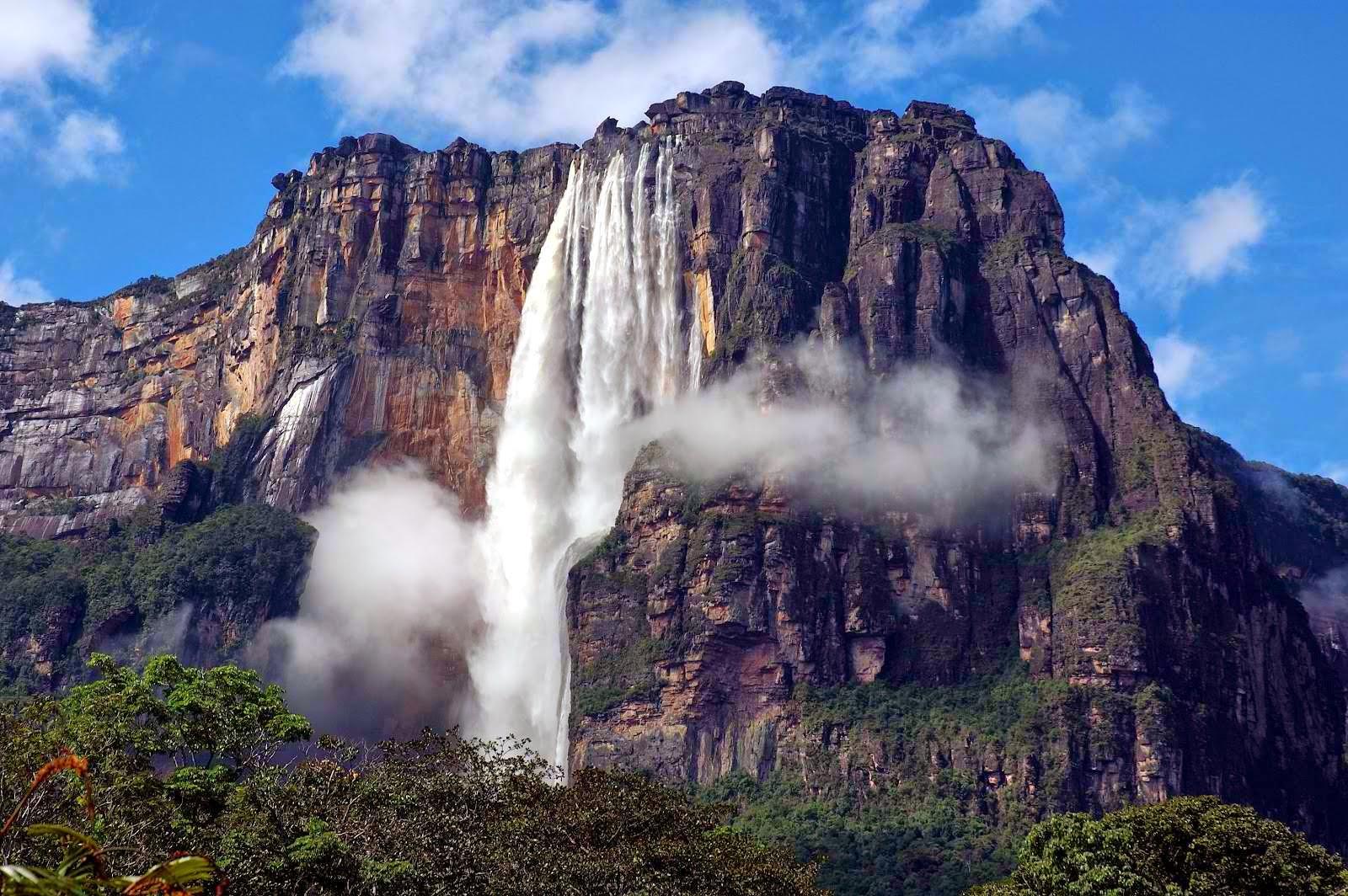 Earth's Highest Waterfall - Angel Falls