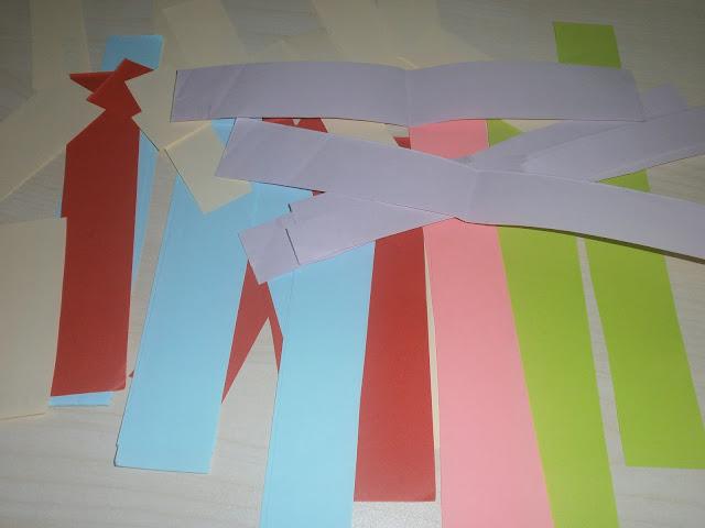 renkli kağıtlar