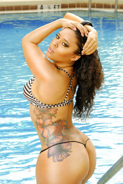 Beauty Girl Tattoo Design