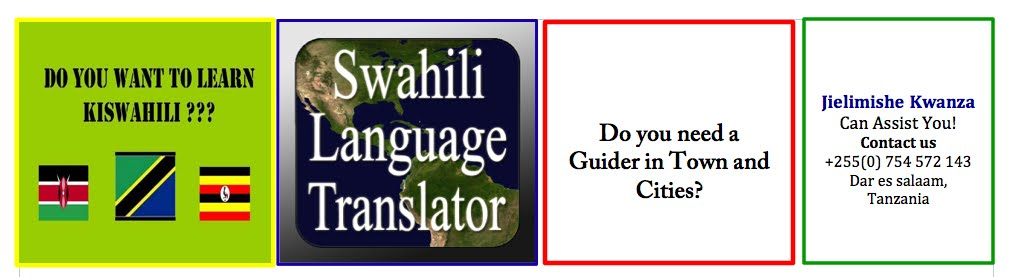 Swahili translator