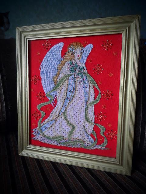 фея, ангел, джоан эллиот, журнал вышиваю крестиком, вышивка крестом, Joan Elliot