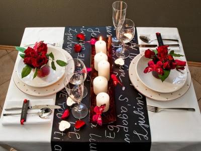 Como arrumar uma mesa para um jantar a dois 2+mundo+das+tribos Sugestão de mesa para Dia dos Namorados