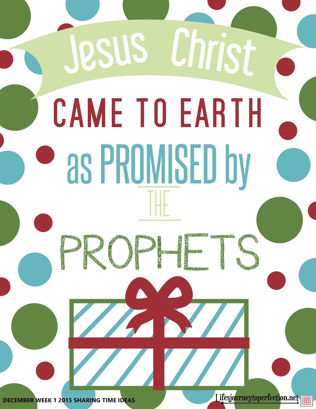Life's Journey To Perfection: A HUGE list of Christ ...
