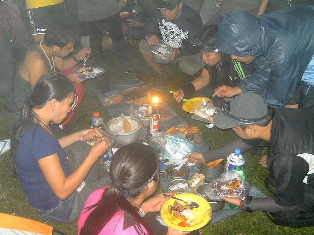 Mt. Manabu Camp site