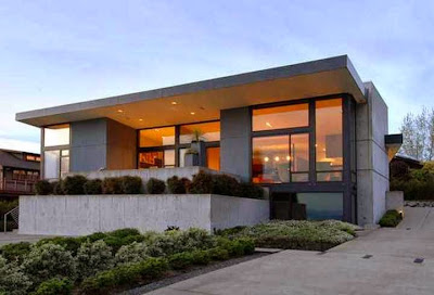 desain rumah eropa modern