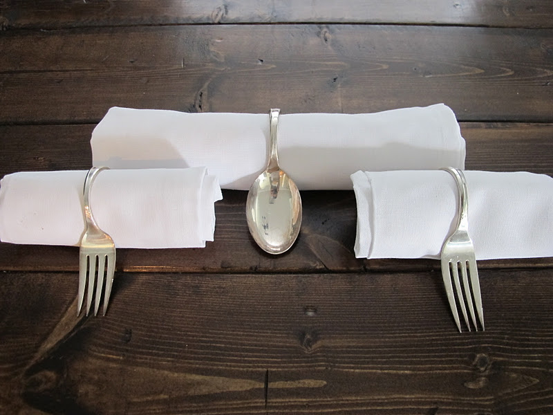 Diy Silverware Napkin Holders Dream Book Design