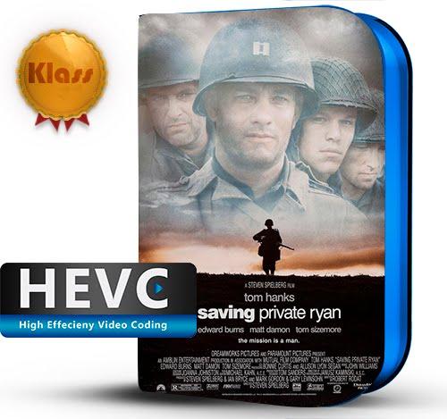 Saving Private Ryan (1998) 1080p BDRip HEVC-10Bits Dual Audio Latino-Inglés [Subt.Esp] ( Bélico. II Guerra Mundial )
