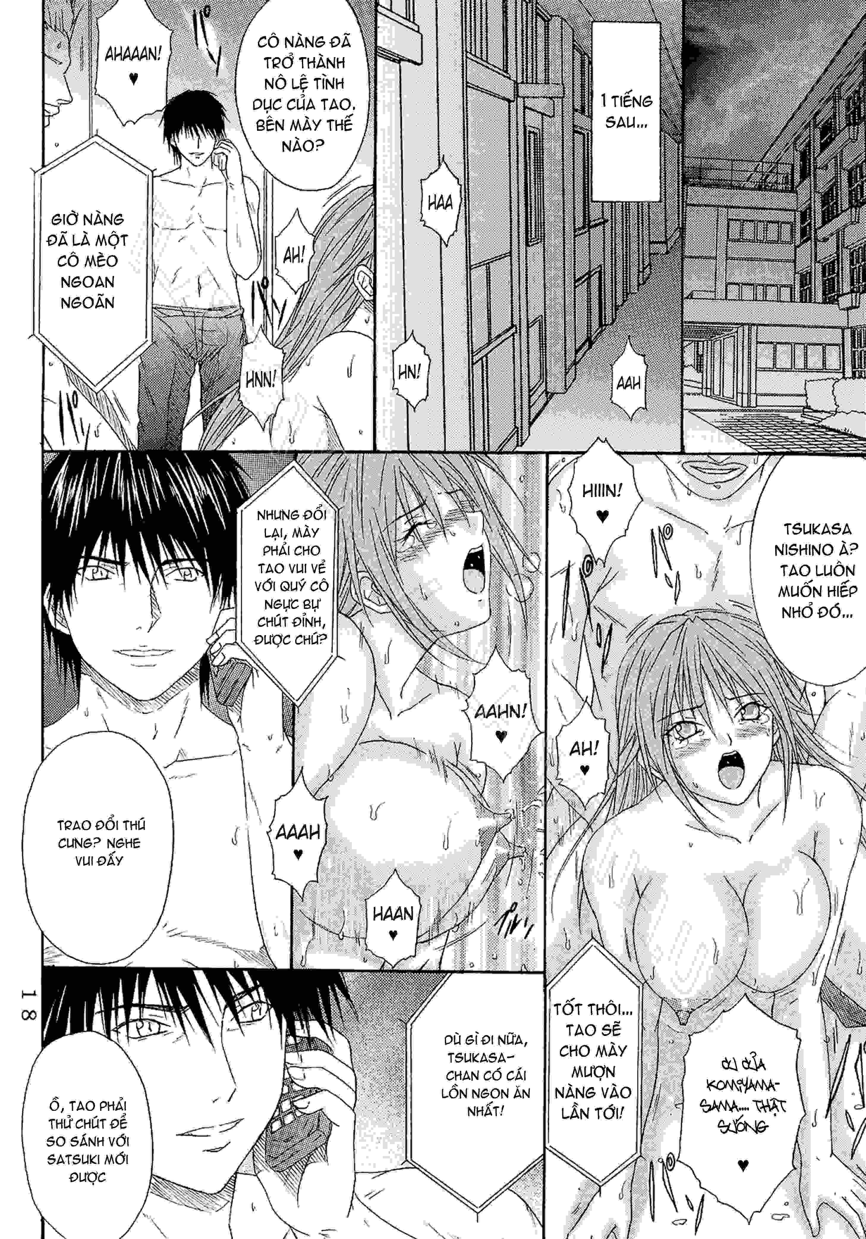 TruyenHay.Com - Ảnh 17 - Ryoujoku Rensa Chapter 6