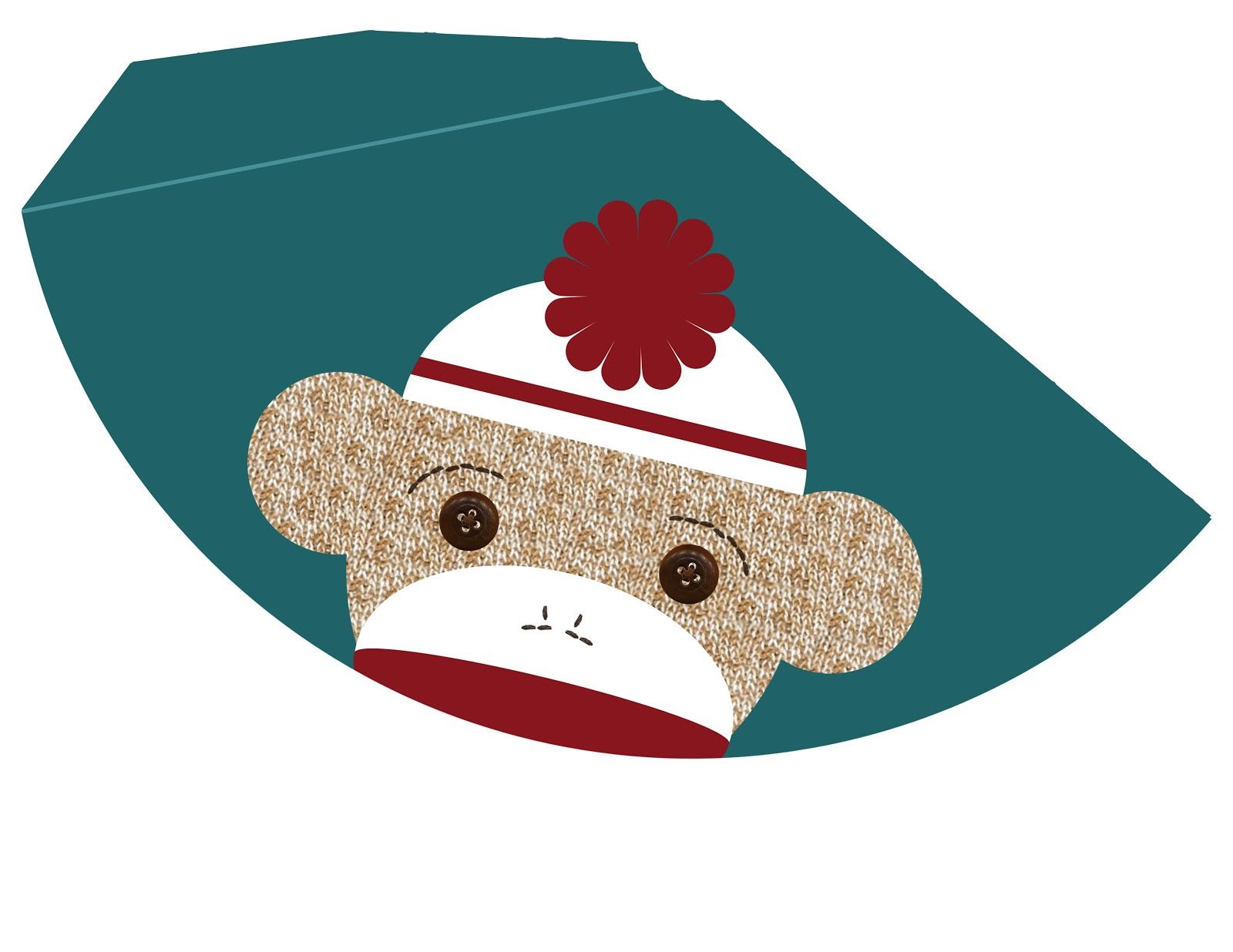 Free Birthday Printables Boy ~ My messy manger: free sock monkey birthday printables: hat