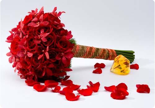 Hoa cưới - Kiểu cuống dài,hoa cưới đẹp