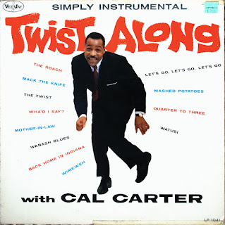 CAL CARTER - TWIST ALONG WITH CAL CARTER (1962)