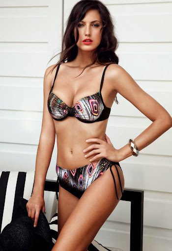 Slovakian model hot model Martina Torkosova looks Cool and sensual for Crool sexy swimwear photoshoot