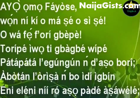 fayose curse video