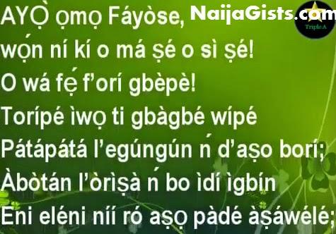 fayose curse video