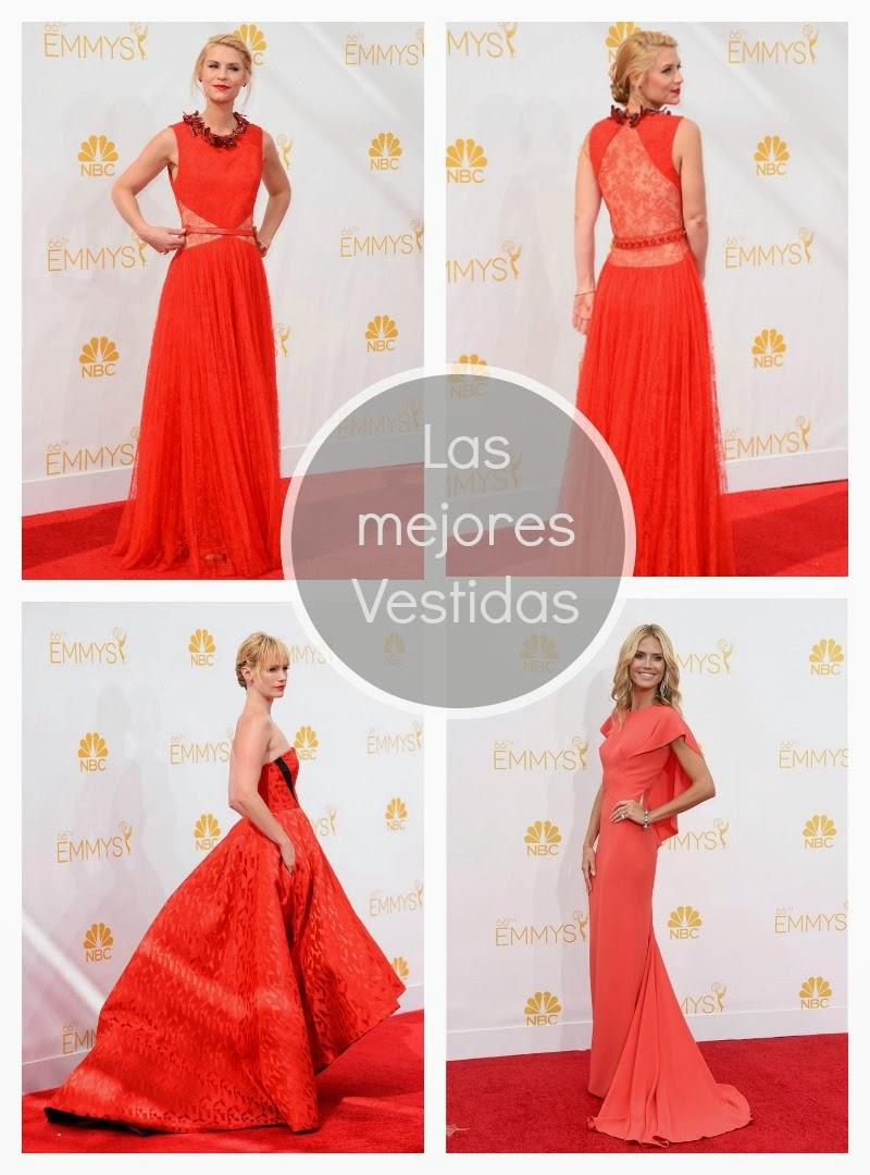 los mejores vestidas Emmys 2014